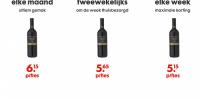 HEMA expertimenteert met abonnementen wijn