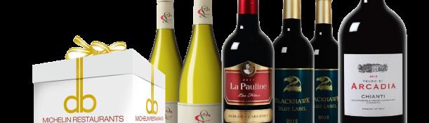 Pakket vol Michelen ster wijnen